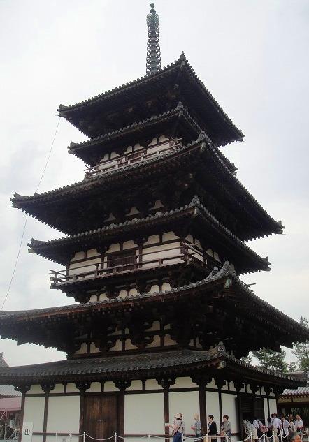 <2010年6月>伊勢路・奈良の旅(その3):「奈良・西ノ京の国宝寺」_c0119160_17363574.jpg