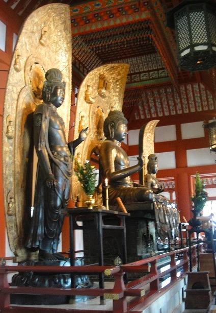 <2010年6月>伊勢路・奈良の旅(その3):「奈良・西ノ京の国宝寺」_c0119160_1743051.jpg