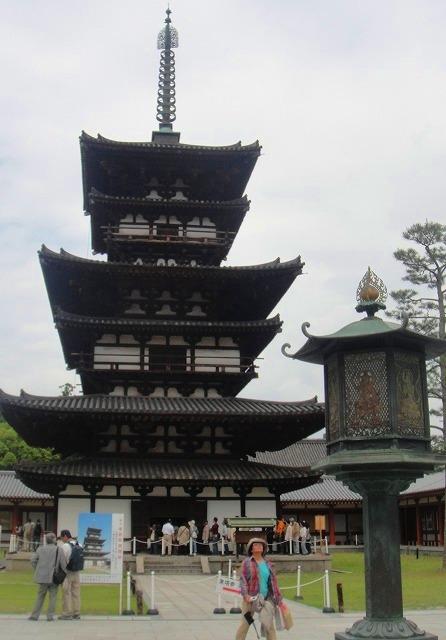 <2010年6月>伊勢路・奈良の旅(その3):「奈良・西ノ京の国宝寺」_c0119160_22291620.jpg