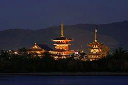 <2010年6月>伊勢路・奈良の旅(その3):「奈良・西ノ京の国宝寺」_c0119160_22375684.jpg