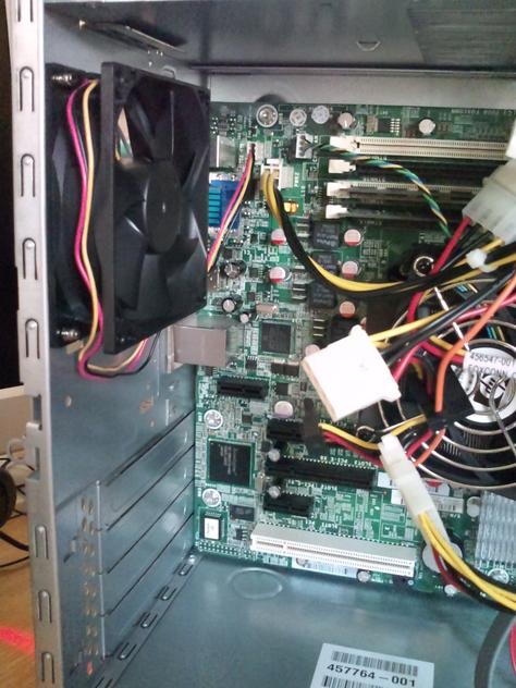 ML115 G5 のケースFANをKAMA-FLOW2 標準モデル SP0925FDB12H (2200RPM 3pin)に換装_b0003577_1111237.jpg