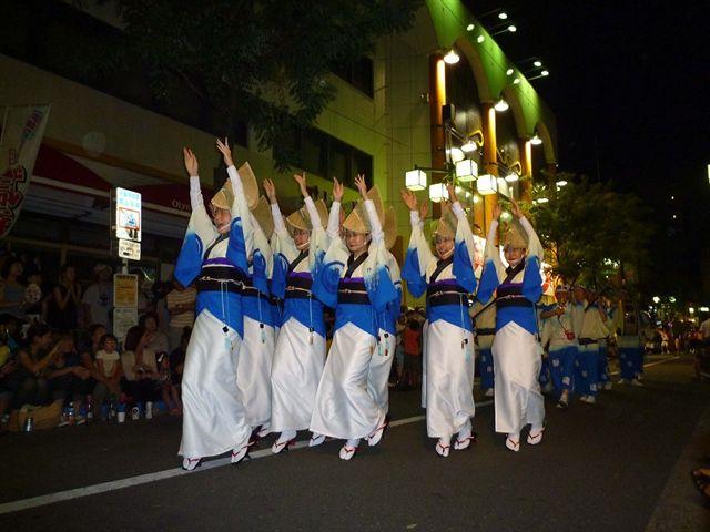 高円寺阿波踊り見学に立ち寄りました_d0027795_11405515.jpg