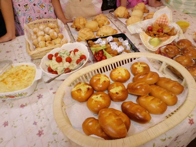 夏休み最後の子どもパン教室_c0106100_21271015.jpg
