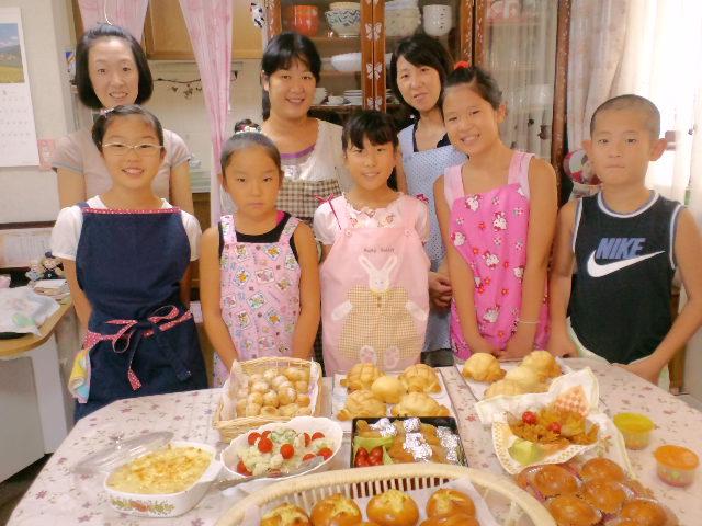夏休み最後の子どもパン教室_c0106100_21271050.jpg