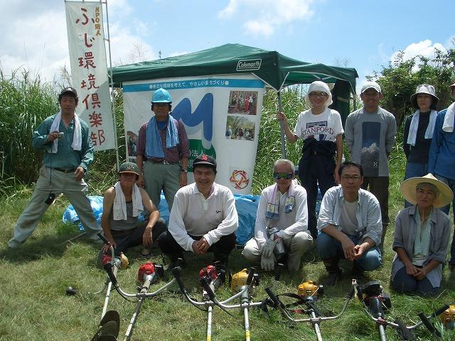 富士山国有林での下草刈りとトコロテン_f0141310_22282644.jpg