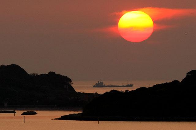 角島に沈む夕陽_d0074828_22463491.jpg