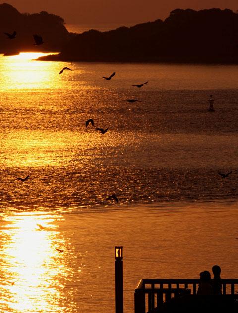 角島に沈む夕陽_d0074828_22552349.jpg