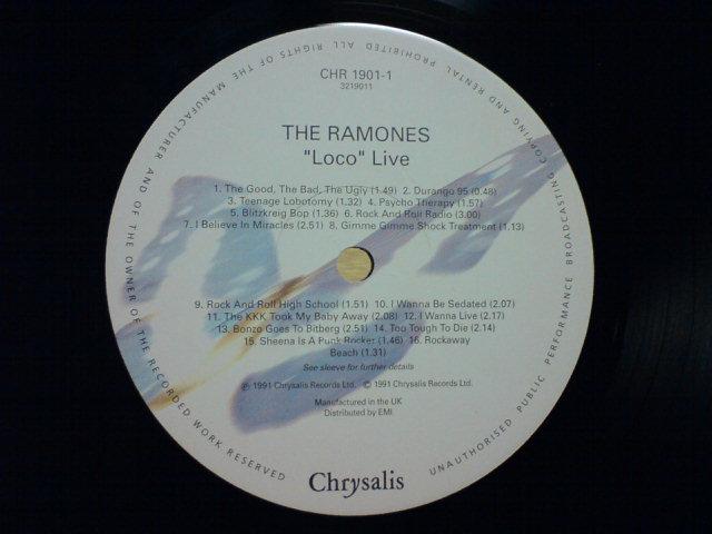 Loco Live / The Ramones_c0104445_22295678.jpg