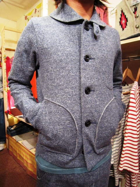 "Wilson(ウィルソン) ""SWEAT JACKET & SWEAT PANTS\""_f0191324_26334.jpg"