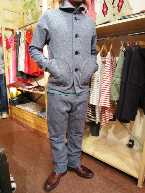 "Wilson(ウィルソン) ""SWEAT JACKET & SWEAT PANTS\""_f0191324_284923.jpg"