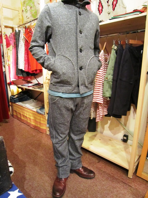 "Wilson(ウィルソン) ""SWEAT JACKET & SWEAT PANTS\""_f0191324_29020.jpg"