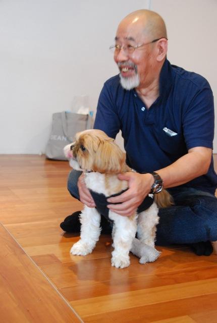 「愛犬の為の整体教室」第1回の模様_c0099133_203879.jpg