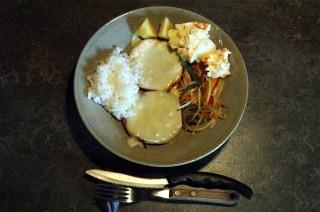 今日の夕飯はハムチーズ_e0166355_16292420.jpg