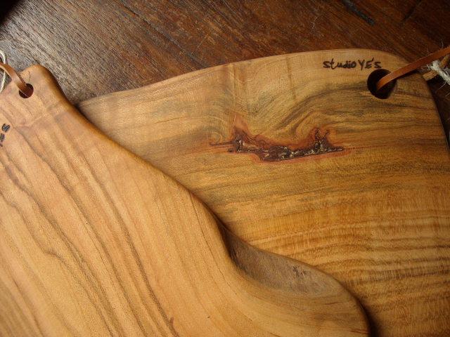 studio Y.E\'Sの無垢の木のカッティングボード_b0154693_3362885.jpg