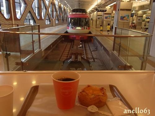 小田急ロマンスカーカフェ