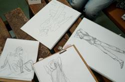 「堀越克哉作品展」開催中のワークショップ_a0017350_171043.jpg