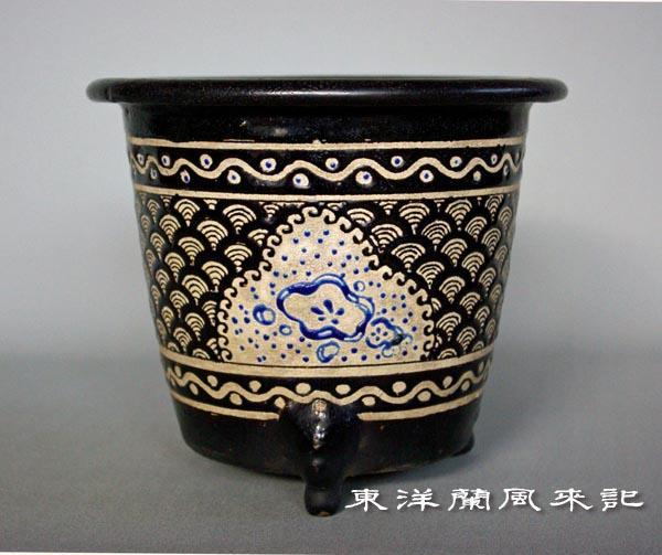 楽焼鉢「大阪楽」                     No.359_b0034163_024946.jpg