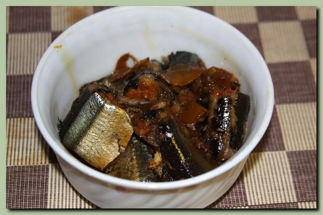 秋刀魚の生姜煮_f0079990_1657494.jpg