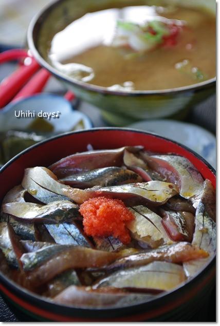 日本最東端で秋刀魚丼!_f0179404_21154133.jpg