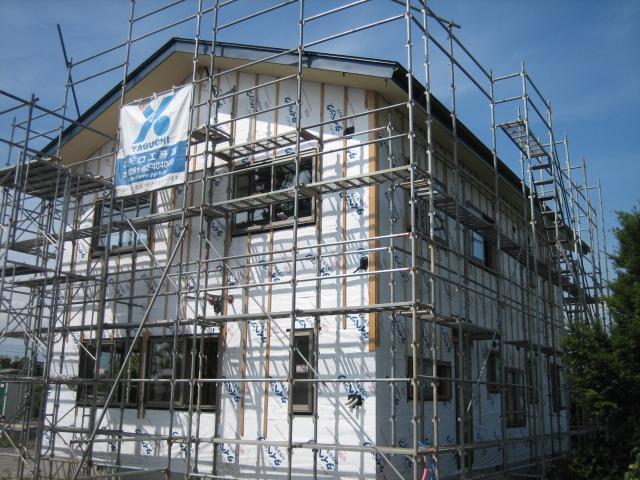 A邸新築工事進行状況_c0218716_189291.jpg