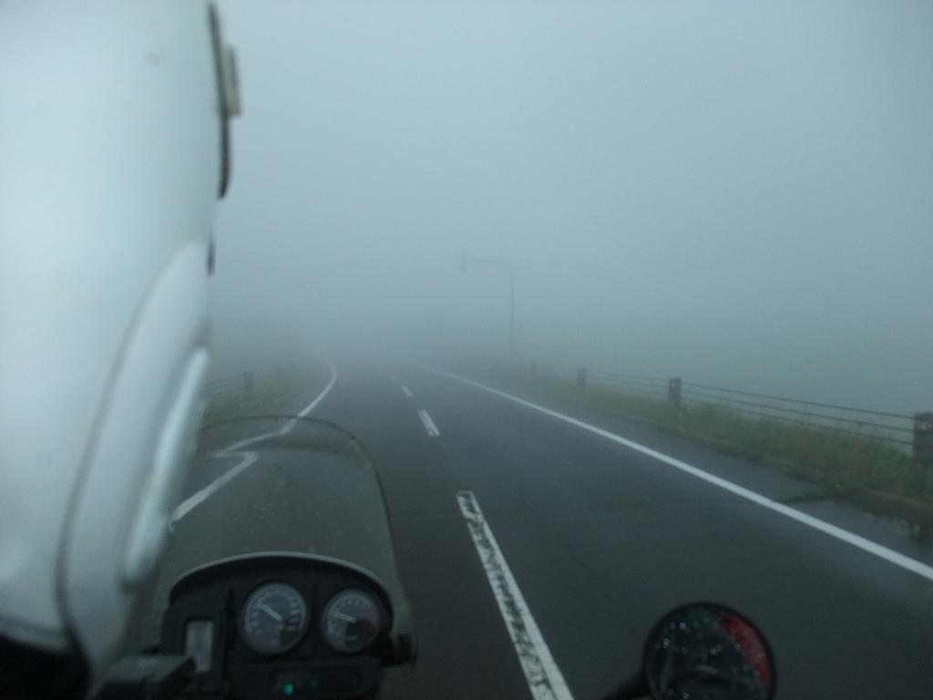 北海道 タンデムツーリング 霧!霧!雨_f0050534_6473623.jpg