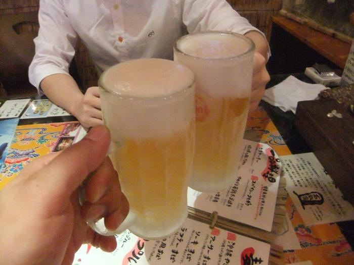 暑いから沖縄にビール飲みにイコー!!_c0226202_0272213.jpg