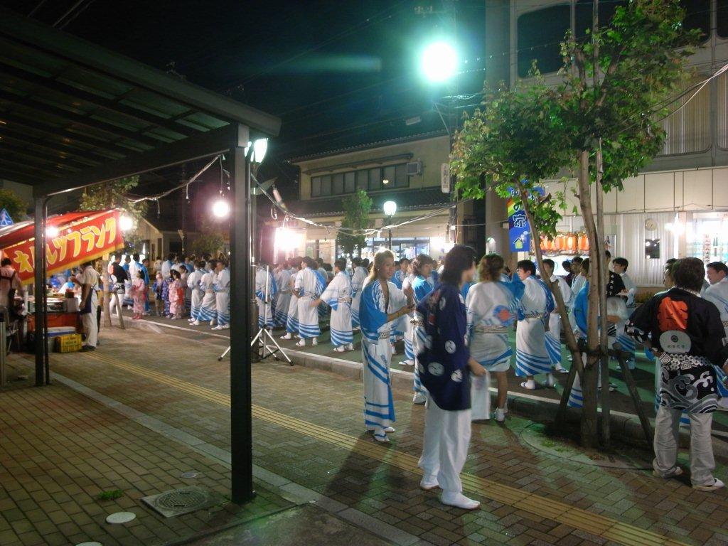 中条祭り 民謡流し_d0081723_1927128.jpg