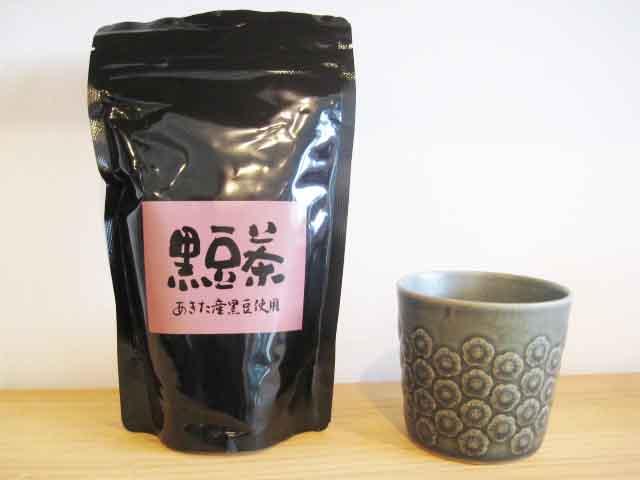 """商品毛筆文字 """"黒豆茶""""_e0197227_1235463.jpg"""