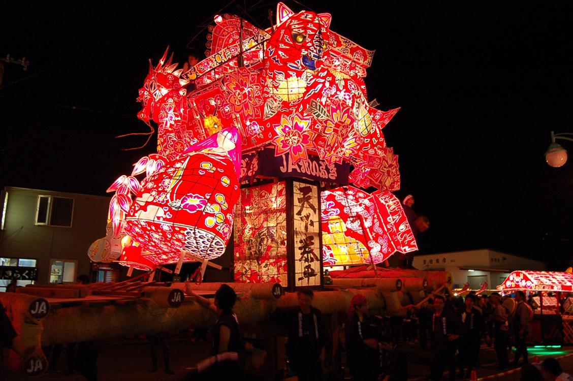 沼田町「夜高あんどん祭り」 : 風林春秋
