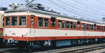 伊予鉄道 モハ303・サハ502 _e0030537_059466.jpg