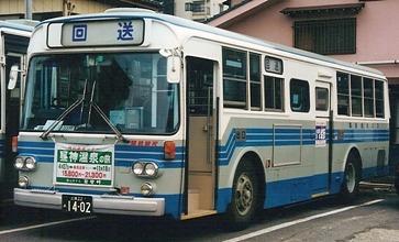 関鉄観光バス いすゞK-CJM500 +川重_e0030537_0472885.jpg