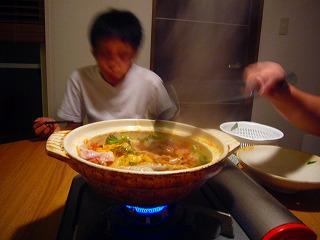 9月6日 この暑いのに 鍋料理とは!!_e0092118_2125057.jpg
