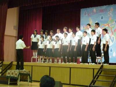 矢島中学校祭_b0084826_5202815.jpg