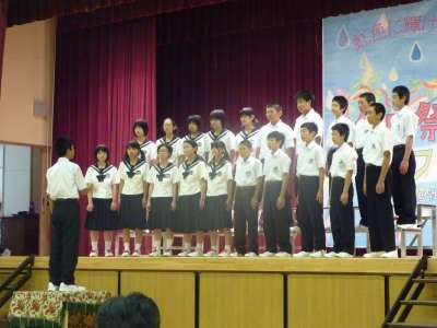 矢島中学校祭_b0084826_59373.jpg