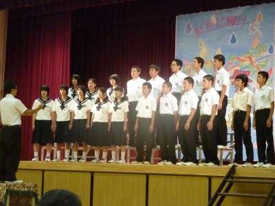 矢島中学校祭_b0084826_595473.jpg