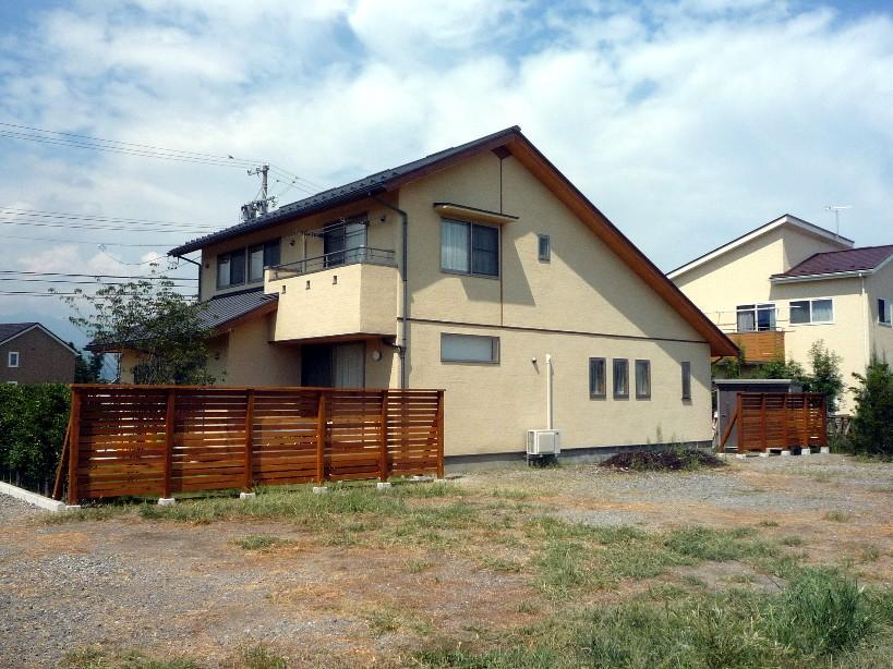 ウッドフェンス工事_c0112447_17201326.jpg