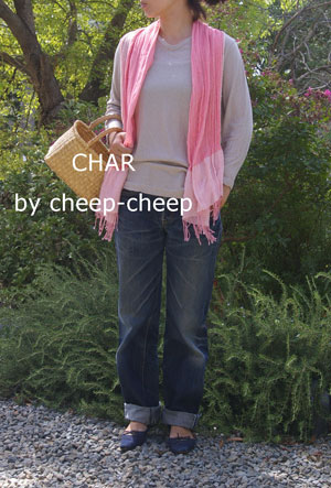 今日の CHAR* スタイル    _a0162603_115553.jpg