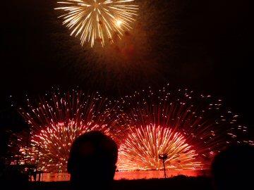 諏訪湖の花火フィナーレ_f0019247_949461.jpg