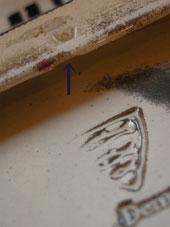 猫の陶板 (Michael Andersen)_c0139773_18353226.jpg