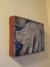 猫の陶板 (Michael Andersen)_c0139773_1835746.jpg