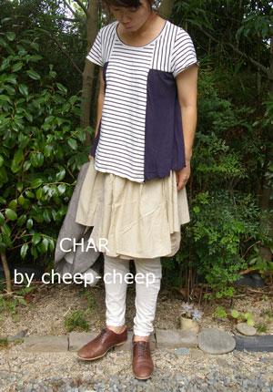 今日の CHAR* スタイル    _a0162603_1619193.jpg