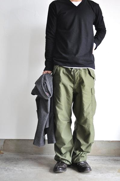 LOLO/ロロ Wool×Cashmere V-neck L-Sleeve