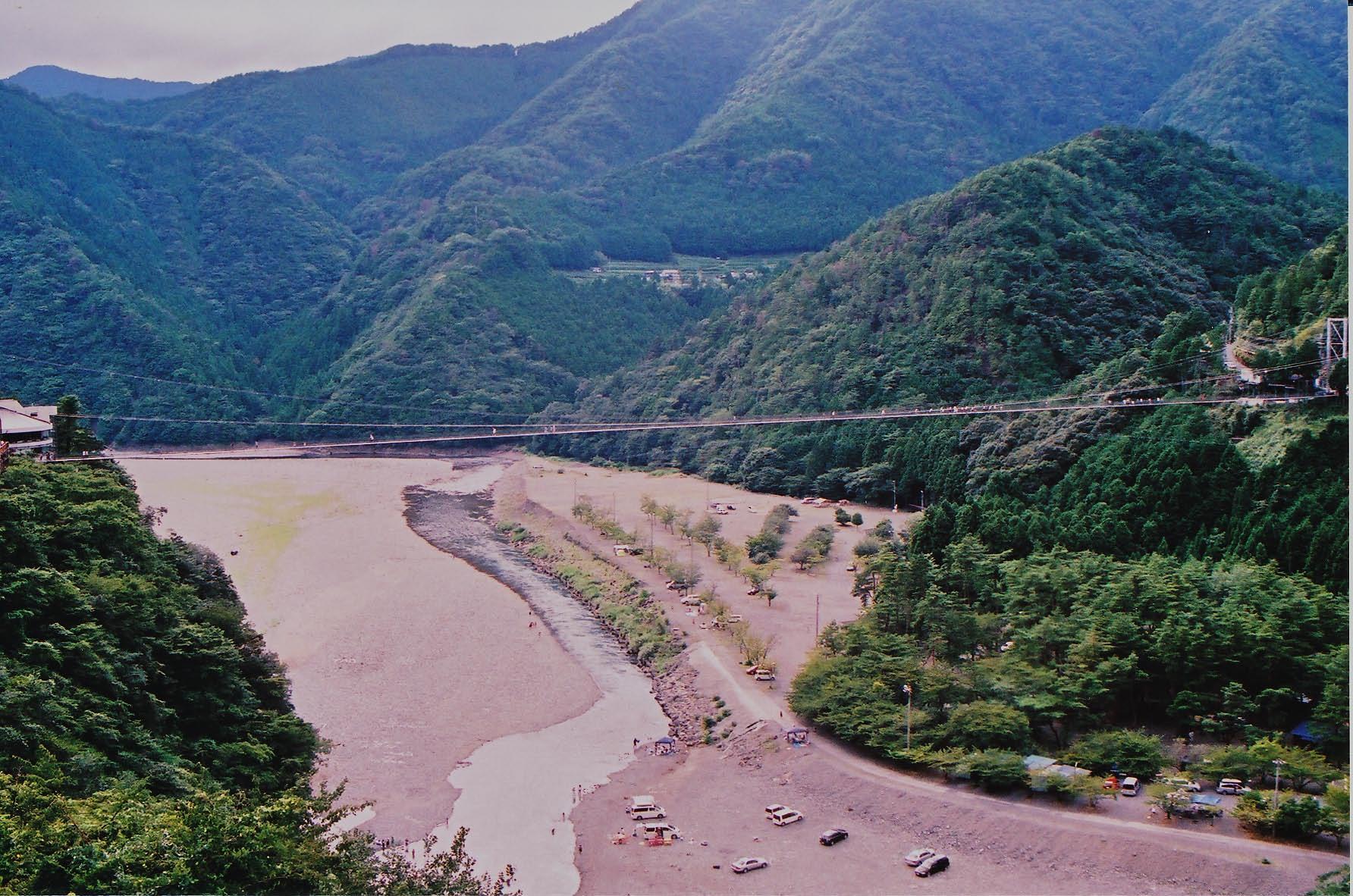 谷瀬の吊り橋_e0156251_21593770.jpg