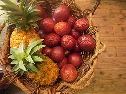 南の島の果物が届きました。_a0077752_1415928.jpg