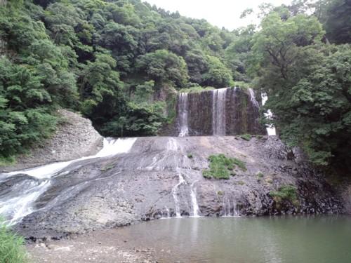 夏休みの思い出『滝すべり』in龍門の滝_d0082356_853979.jpg