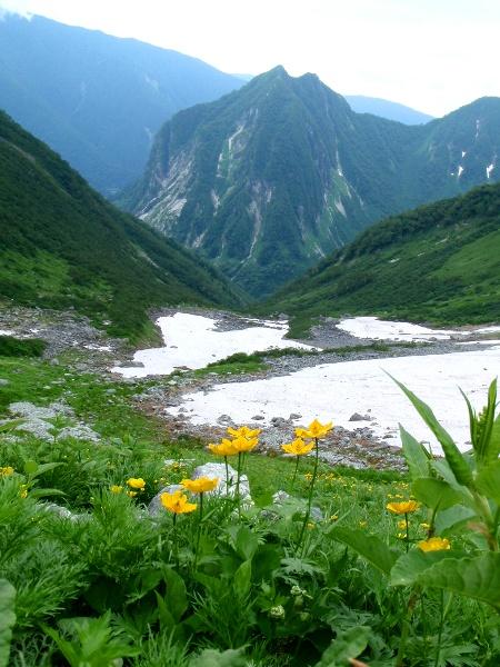 夏休み岩稜歩き-本谷カール_c0177814_19112769.jpg