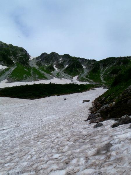 夏休み岩稜歩き-本谷カール_c0177814_1932648.jpg