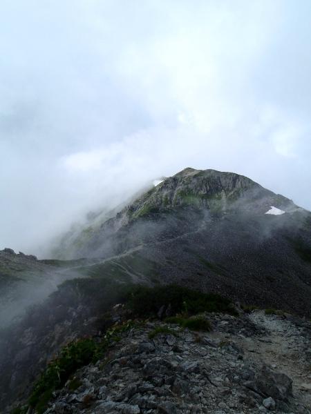 夏休み岩稜歩き-本谷カール_c0177814_19375467.jpg