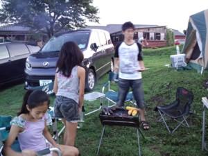 """夏休みの思い出!""""家族でキャンプ""""in久住高原オートビレッジ_d0082356_714753.jpg"""