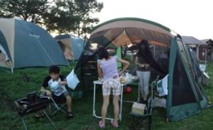 """夏休みの思い出!""""家族でキャンプ""""in久住高原オートビレッジ_d0082356_71996.jpg"""